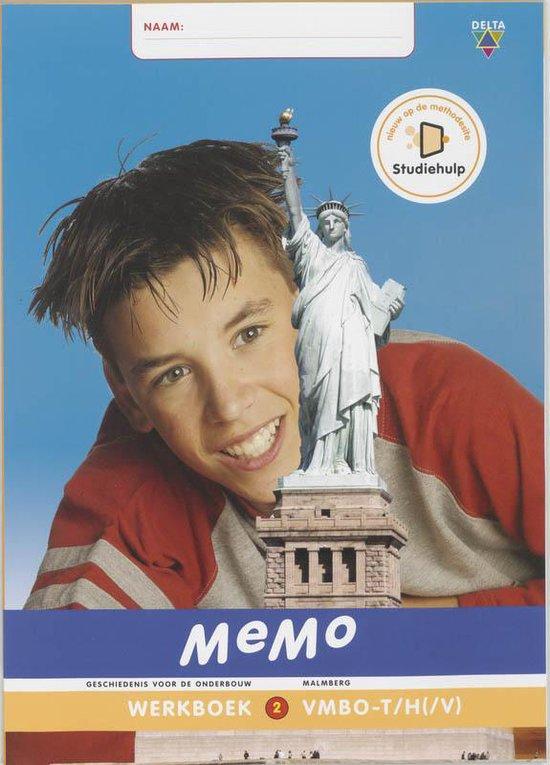 MeMo 2 Vmbo-t/havo(/vwo) Werkboek - J.H. Bulthuis |