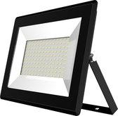 Buitenlamp zwart | LED 100W=1000W halogeen schijnwerper | koelwit 4000K | waterdicht IP65