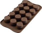 Silikomart Chocolade Mal Praline - Ø 3 cm