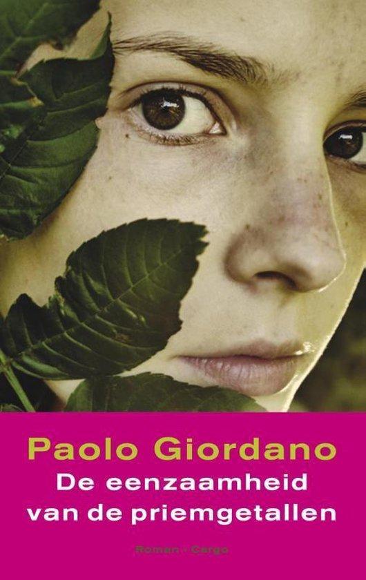 Boek cover De eenzaamheid van de priemgetallen van Paolo Giordano (Onbekend)