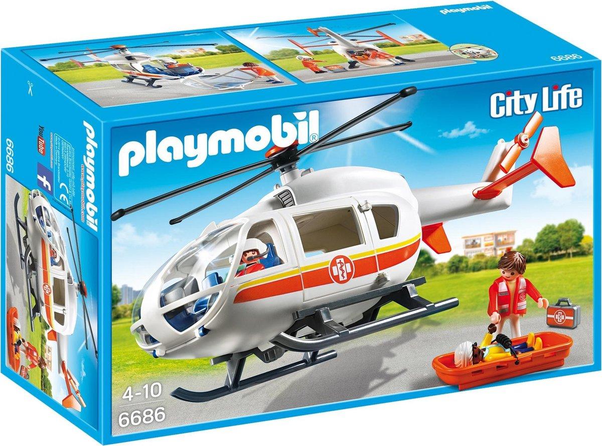 PLAYMOBIL City Life Traumahelikopter - 6686