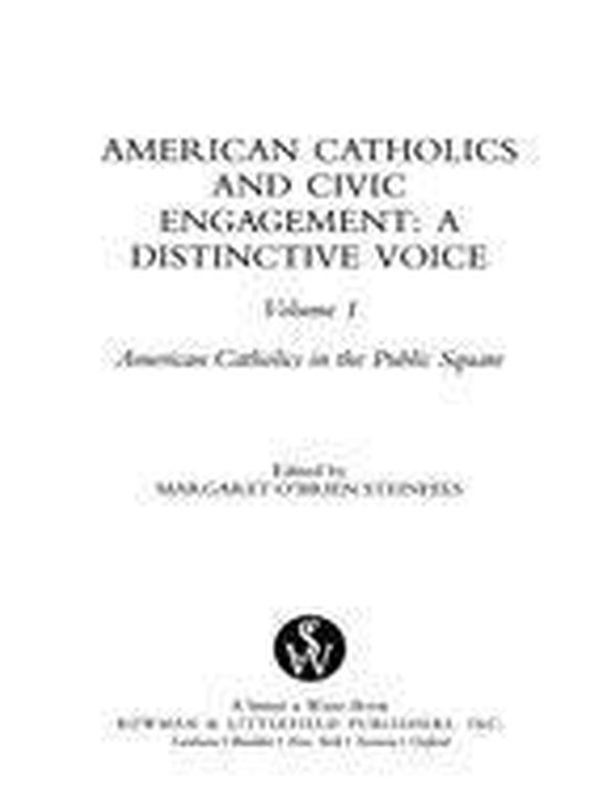 Afbeelding van American Catholics and Civic Engagement