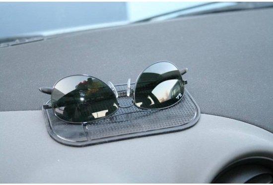 Auto dashboard anti slip matje - Sticky pad | Voor telefoon, smartphone, sleutels etc. | Zwart