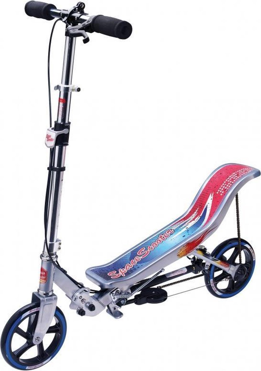 Space Scooter X580 - Step - Zilver / Blauw - Limited Edition