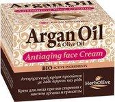 HerbOlive Argan Olie Anti-Verouderings Crème 50ml