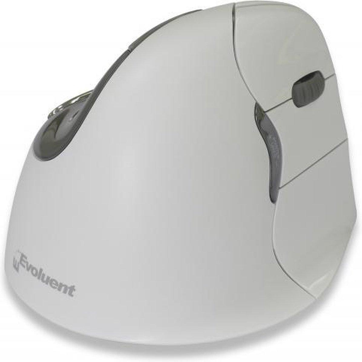 Evoluent Evoluent4 Bluetooth Optisch 2600DPI Rechtshandig Grijs