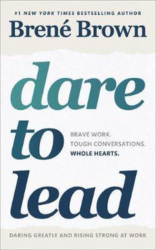 CD cover van Dare to Lead van Brené Brown