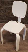 Playwood - Houten stoel voor kinderen - Kinderstoeltje - Wit