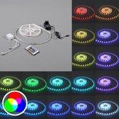 QAZQA IP20 5m - RGB LED strip - 150 lichts - 5000 mm - multicolor