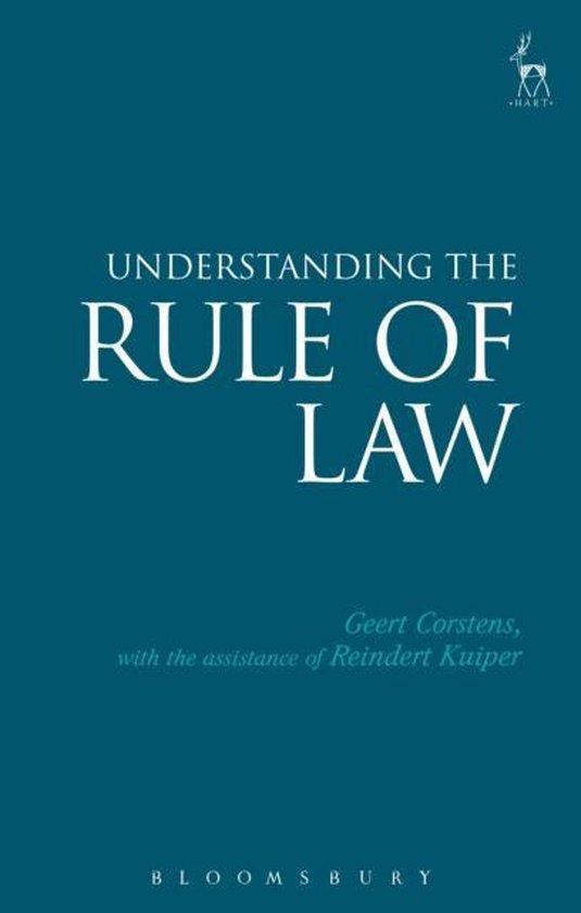 Boek cover Understanding the Rule of Law van Judge Geert Corstens (Paperback)