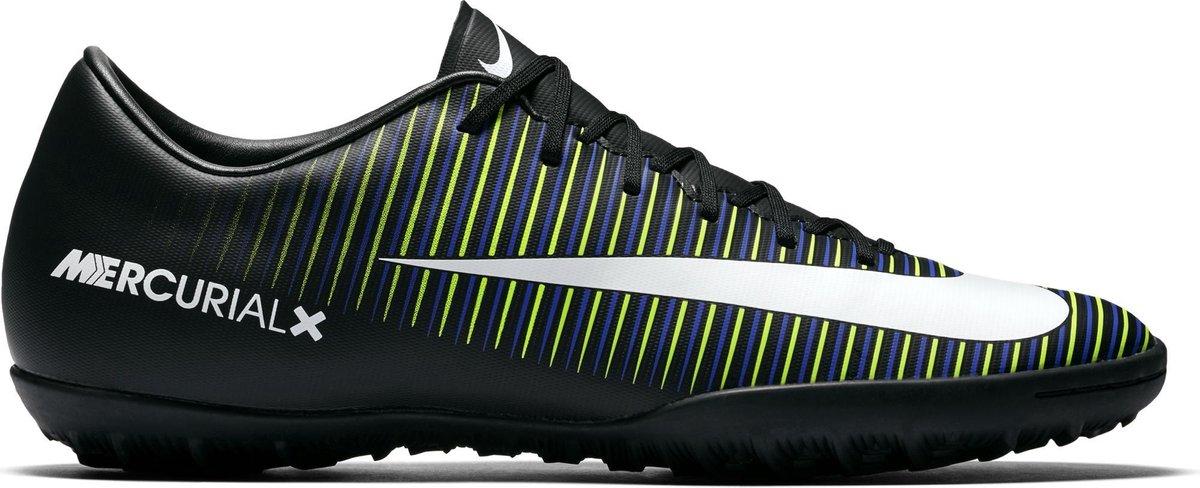 Nike Mercurial Vapor Voetbalschoenen Maat 40.5 Mannen zwartwitgroen