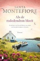 Boek cover Deverill 2 -   Als de rododendron bloeit van Santa Montefiore (Paperback)