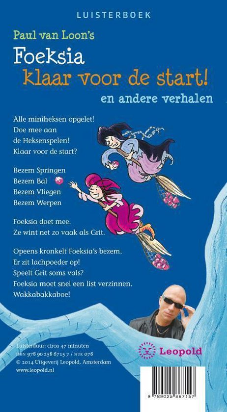 Foeksia De Miniheks - Foeksia klaar voor de start! (luisterboek 1CD)
