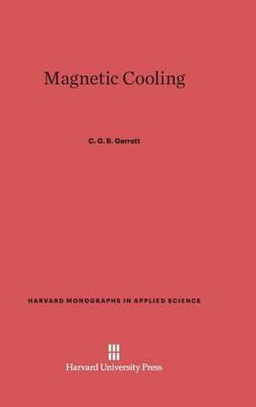 Magnetic Cooling