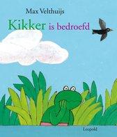 Boek cover Kikker is bedroefd van Max Velthuijs
