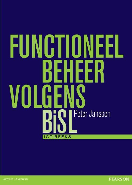 Functioneel beheer volgens BiSL / druk 1 - Peter Janssen |