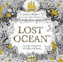 Lost Ocean : an Underwater Adventure & Colouring Book