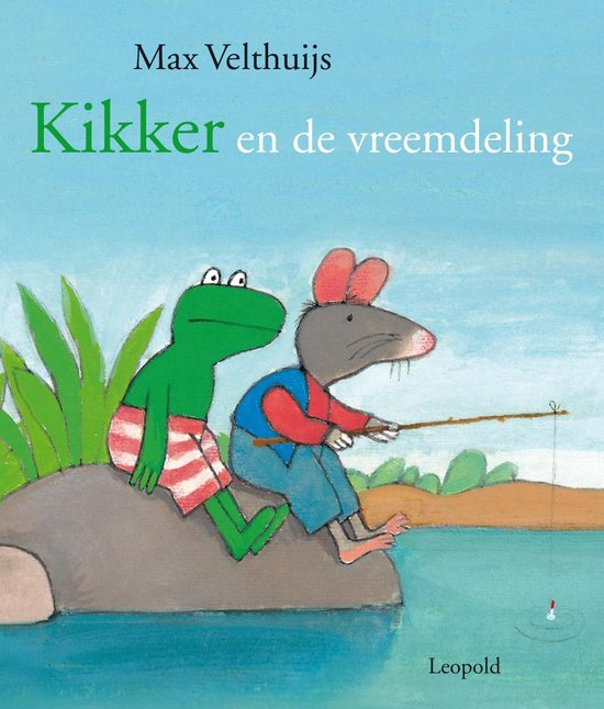 Boek cover Kikker en de vreemdeling van Max Velthuijs