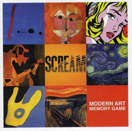 Modern Art Memory Game