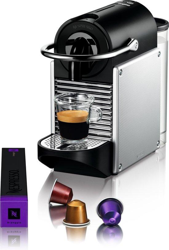 Magimix Nespresso Pixie M110 - Koffiecupmachine - Zilver