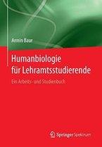 Boek cover Humanbiologie Fur Lehramtsstudierende van Armin Baur
