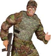 Camouflage gilet voor volwassenen - Verkleedkleding - One size