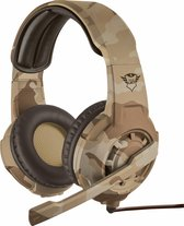 Trust GXT 310 Radius - On-ear Gaming Headset (PC + PS4 + Xbox One) - Desert Camouflage