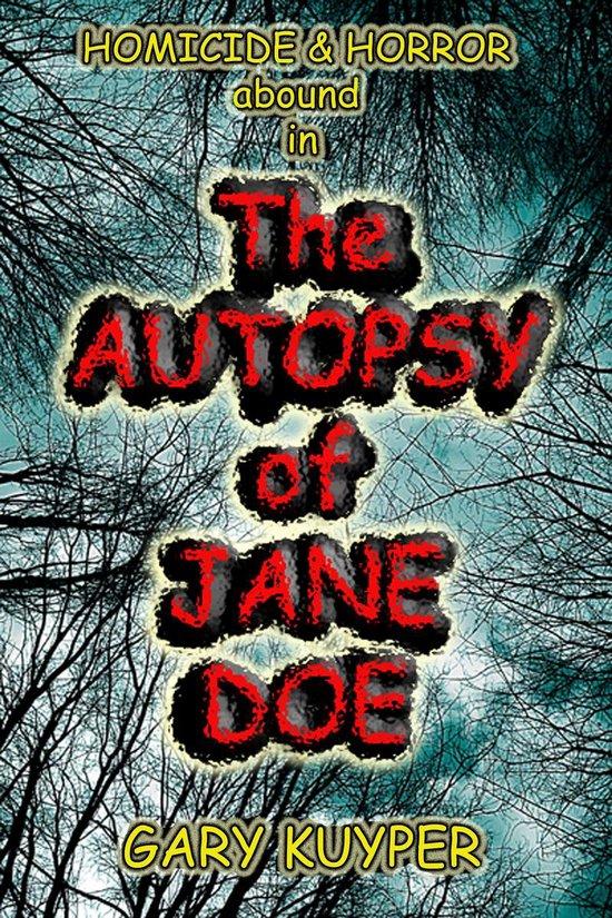 Omslag van The Autopsy of Jane Doe