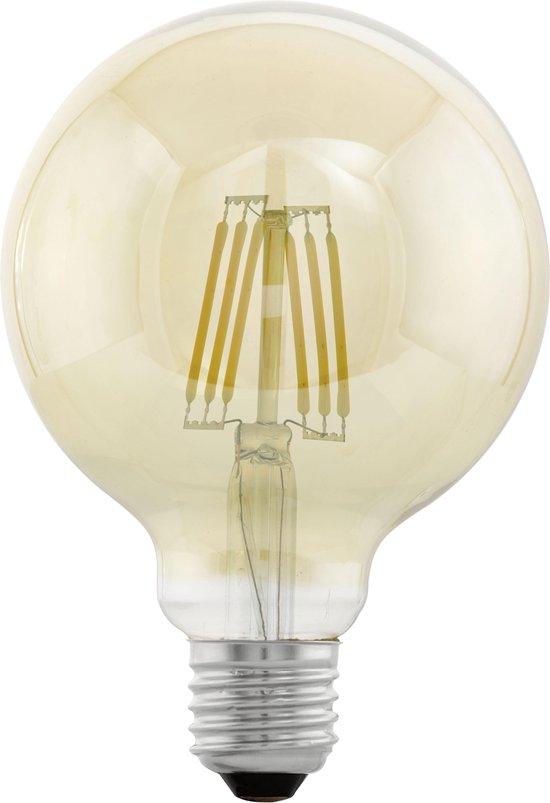 Eglo Vintage LED Kooldraadlamp – E27 - Amberkleurig