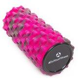 #DoYourFitness - Fascia rol - »Ishana« - foam roller voor  zelfmassage - Afmetingen: L34cm x D14cm - roze