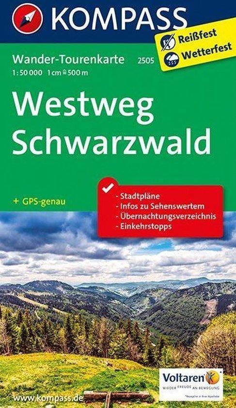 Kompass WTK2505 Westweg Schwarzwald - Kompass |