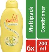 Zwitsal Conditoner 6 x 200 ml  - Voordeelverpakking