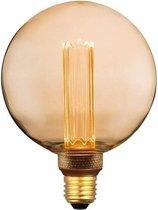 LED Kooldraadlamp E27   3-staps dimbaar - G125 Vintage - Grote Globe Bulb - Filament Edison Lamp