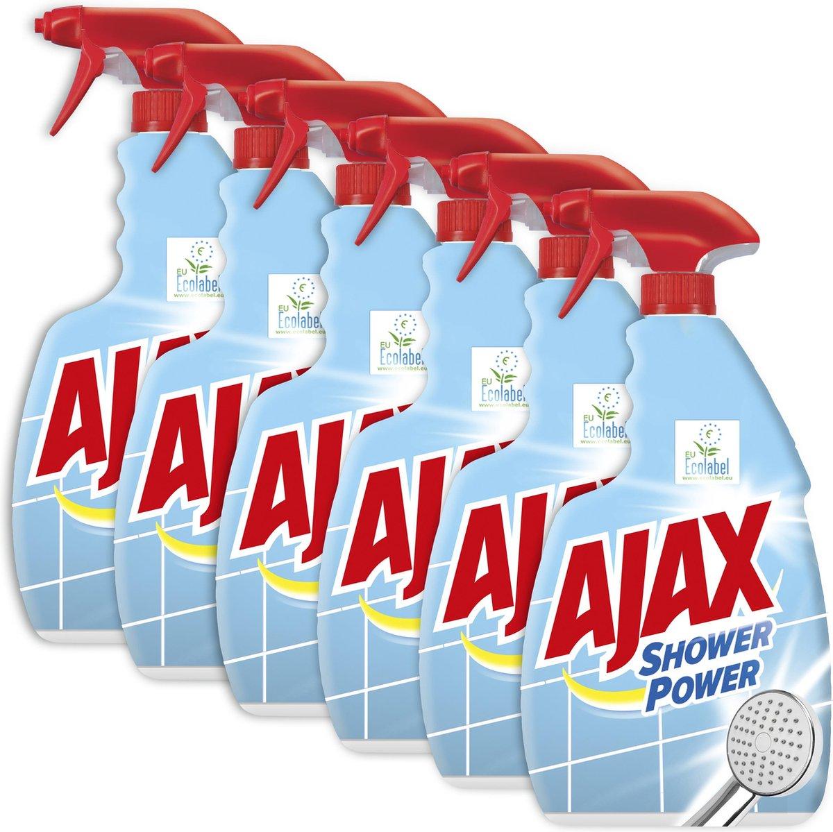 Bol Com Ajax Spray Shower Power 6 X 750ml Voordeelverpakking