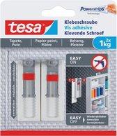 Tesa verstelbare klevende schroef voor behang en pleister, draagkracht 1 kg