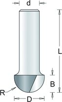 RvS Tools Holgroeffrees 65-8 15,9mm Hm As 8mm