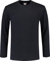 Tricorp t-shirt lange mouw - Casual - 101006 - navy - maat XL