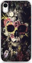 Apple iPhone XR hoesje Garden Skull Casetastic Smartphone Hoesje softcover case