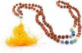 Rudraksha Chakra Edelstenen Buddha Mala – 108 kralen