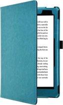 i12Cover - Premium Business Sleepcover voor Kobo Aura One - Blauw