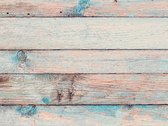Vinyl vloervinyl | Old wood aqua | 90x120cm
