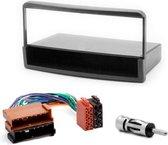 1-DIN installatie kit FORD Fiesta, Focus, Galaxy, Mondeo, Transit  inbouwpaneel+ kabel en antenne