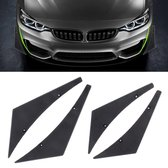4 STKS Auto-Styling Blade Decoratieve Sticker (Zwart)