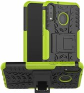 Samsung Galaxy M20 hoes - Schokbestendige Back Cover - Groen