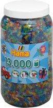 Hama Strijkkralen in een Tonmet Glitters
