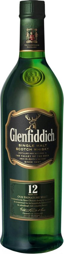 Glenfiddich 12 Years Old -  70cl