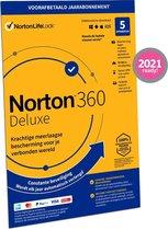 Norton 360 Deluxe 2021 5 Apparaten, 1 Jaar - Fysie