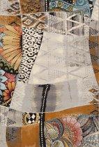 Aledin Carpets Matadi - Tuintapijt - Laagpolig - Vloerkleed 160x230 cm - Grijs - Buitenkleed