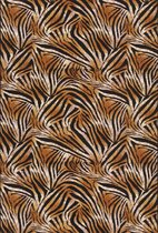 Aledin Carpets Jima - Tuintapijt - Laagpolig - Vloerkleed 160x230 cm - Oranje - Buitenkleed - Buitentapijt