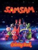SamSam Coloring Book